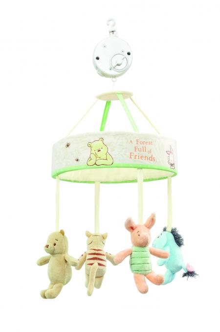 Hundred Acre Wood Winnie the Pooh Mobile | Rainbow Designs